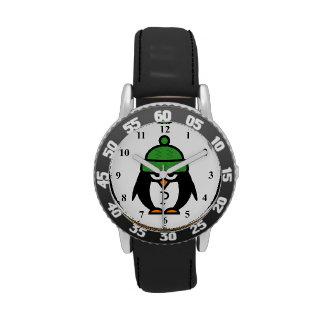 Reloj lindo de los niños con diseño divertido del