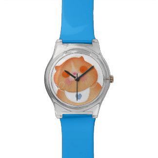 Reloj lindo del gatito