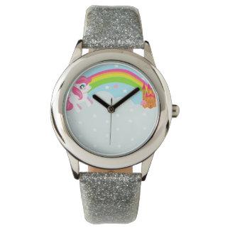 reloj lindo del unicornio