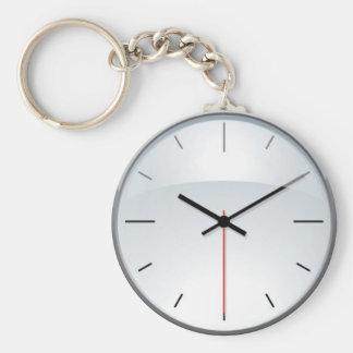 Reloj Llavero Redondo Tipo Pin