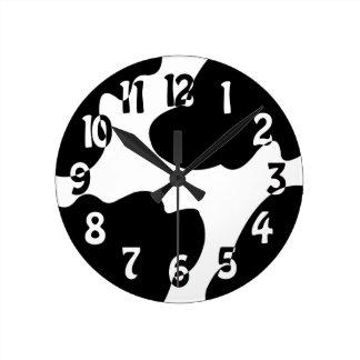 Reloj loco de la vaca