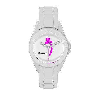 Reloj magenta del iris de PRLimages