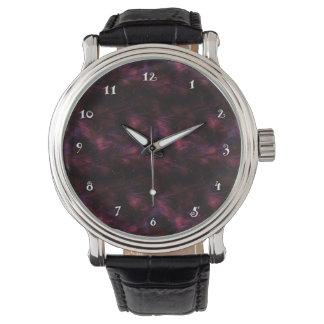 Reloj marrón del fractal