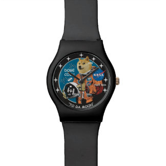 Reloj mate negro de Moonbound