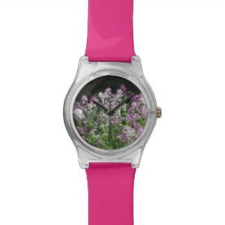 reloj máximo de las flores