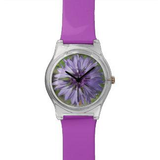 Reloj - May28th - botón de la lila/del soltero púr