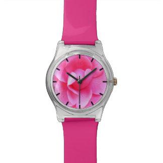 Reloj - May28th - camelia rosada oscura