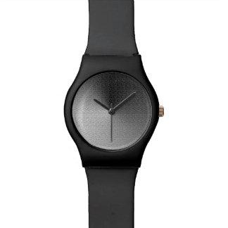 Reloj metálico de plata desigual del ~ May28th