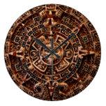 Reloj mexicano azteca de la historia del calendari