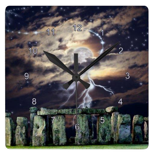 Reloj místico de la historia de arte del druida de