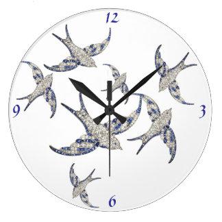 Reloj moderno de Acryllic de la joyería de los páj