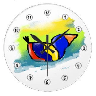 Reloj mural Pato
