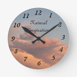 ¡Reloj natural de la inspiración de los ámbares!