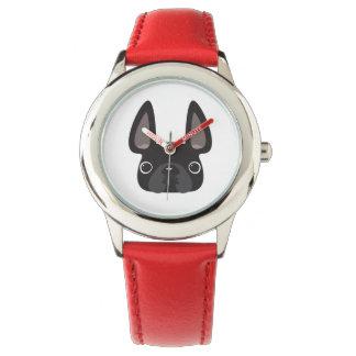Reloj negro de Frenchie