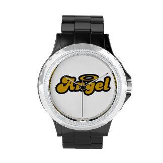 Reloj negro del diamante artificial de AAI