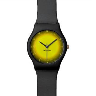 reloj negro por Highsaltire