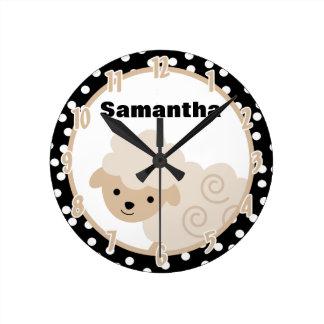 Reloj neutral del cordero de las ovejas de la gran