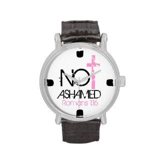 """Reloj """"no avergonzado"""" del estímulo del verso de"""