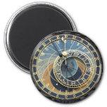 Reloj o Praga astronómico Orloj Imán Redondo 5 Cm