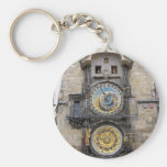 Reloj o Praga astronómico Orloj Llavero Redondo Tipo Pin