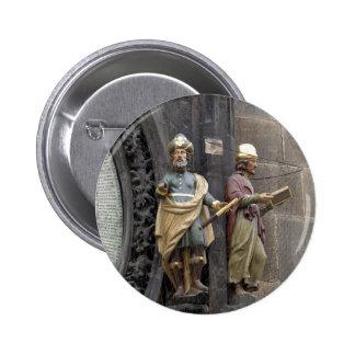 Reloj o Praga astronómico Orloj Pins