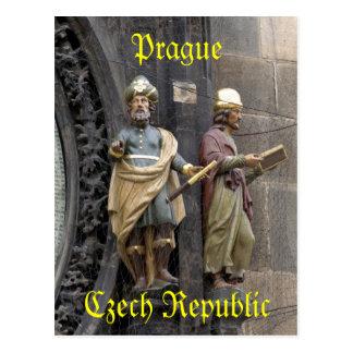 Reloj o Praga astronómico Orloj Postal