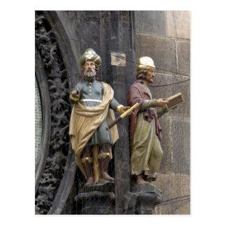 Reloj o Praga astronómico Orloj Tarjeta Postal