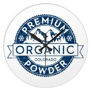 Reloj orgánico superior del polvo de Colorado