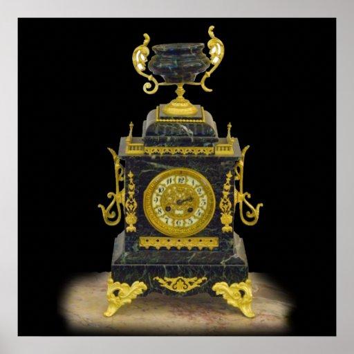 reloj poster
