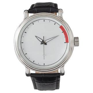 Reloj para hombre del tacómetro de la revolución