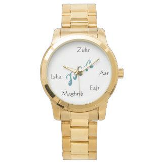 Reloj para mujer del oro de la colección de JFIA