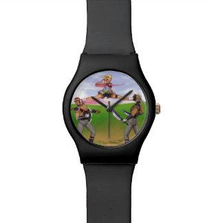 Reloj partido del ataque del aire del Peony de TAO