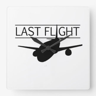 Reloj pasado del vuelo