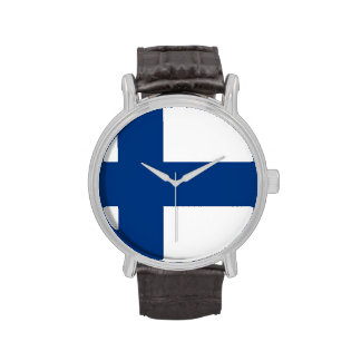 Reloj patriótico, especial con la bandera de