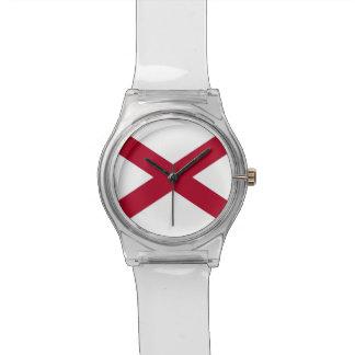 Reloj patriótico, especial de los niños con la ban