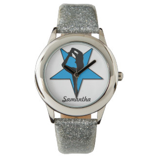 Reloj personalizado animadora azul