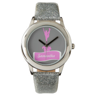 reloj personalizado animadora de plata