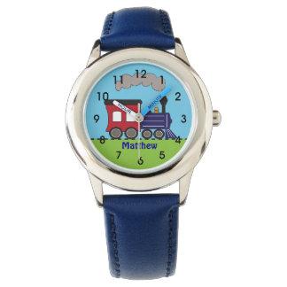 Reloj personalizado de Choo Choo del tren de los