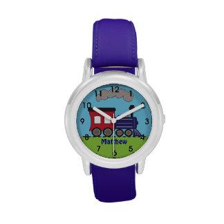 Reloj personalizado de Choo Choo del tren de los m
