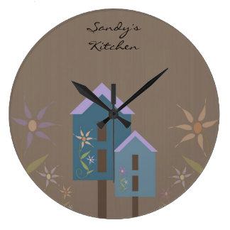 Reloj personalizado de la cocina