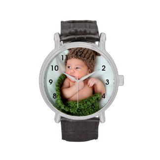 Reloj personalizado de la foto