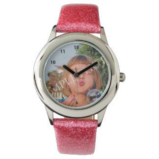 Reloj personalizado de la foto. ¡Haga sus los