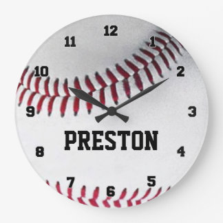 Reloj personalizado del béisbol