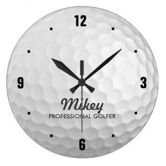 Reloj personalizado del golf