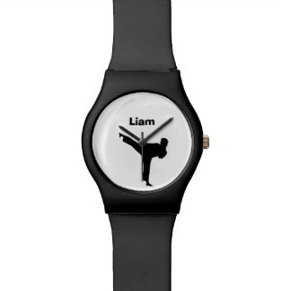 Reloj personalizado karate
