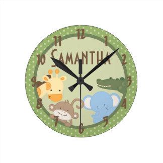 Reloj personalizado parque zoológico de la selva d
