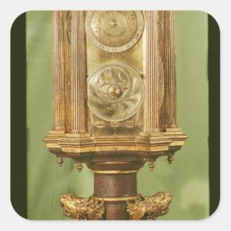 Reloj planetario, terminado en 1520 pegatina cuadrada