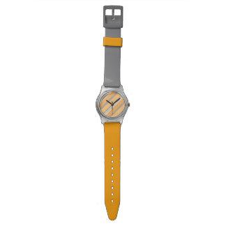 Reloj poner crema anaranjado