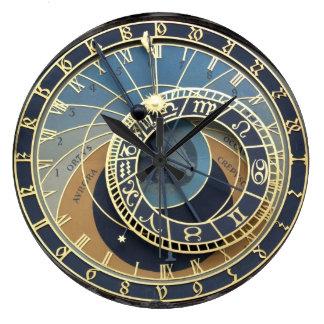 Reloj-Praga astronómica Orloj Reloj Redondo Grande