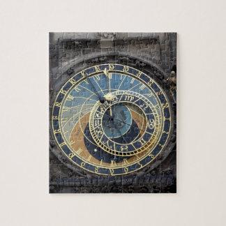 Reloj-Praga astronómica Orloj Rompecabeza